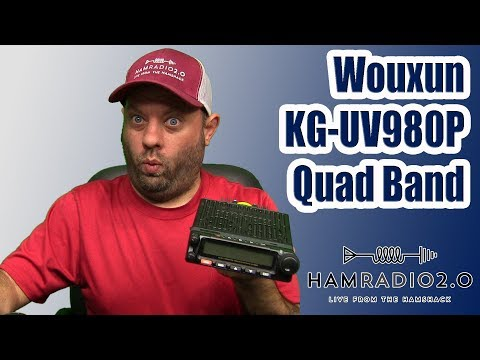 Wouxun KG-UV980P Quad Band First Look