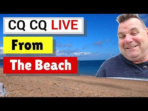 CQ CQ Live From Slapton Sands