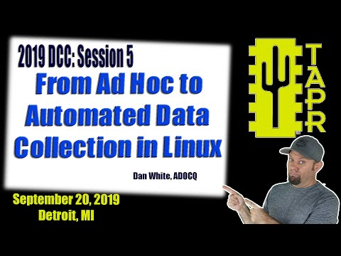 From Ad Hoc to Automated Data Collection in Linux | TAPR DCC