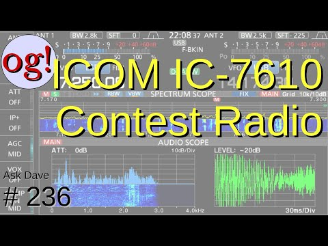 ICOM IC-7610 Intro and Features (#237)