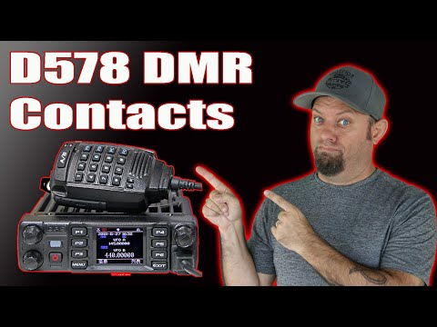 Anytone D578 Loading Contacts