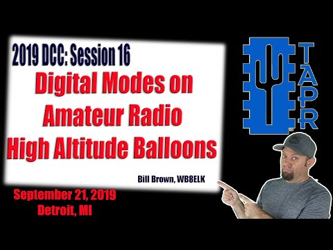 Digital Modes on Amateur Radio High Altitude Balloons