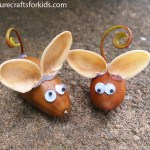 kids-nature-craft-mouse-mice-acorns