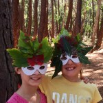 Nature Masks at NaturePlaySA Forest Festival