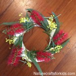 Nature Craft ANZAC Wreath