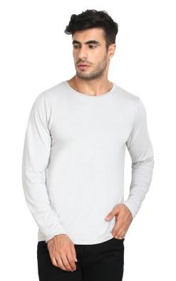 Naturefab Mens Bamboo Sun UV Protective Clothing Full sleeve T Shirt grey 4