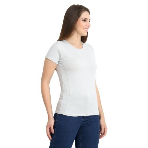 Naturefab Womens Sustainable Bamboo Clothing T Shirt Grey 6