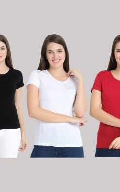tshirt combo pack of 3