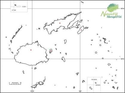 Kulawai historical distribution map