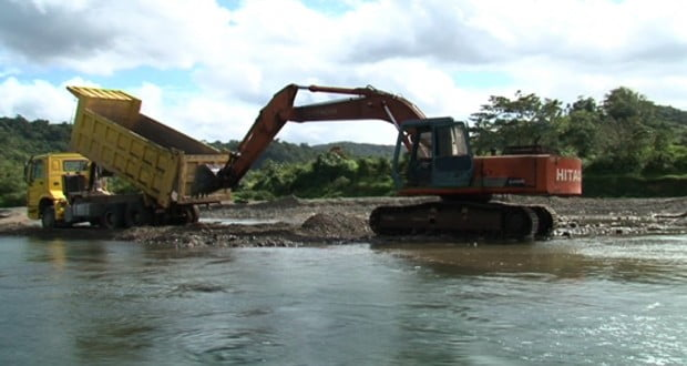 Position Paper – Unsustainable Extraction of River Gravel, Sand and Rock