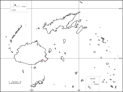 Balaka (Balaka microcarpa) map