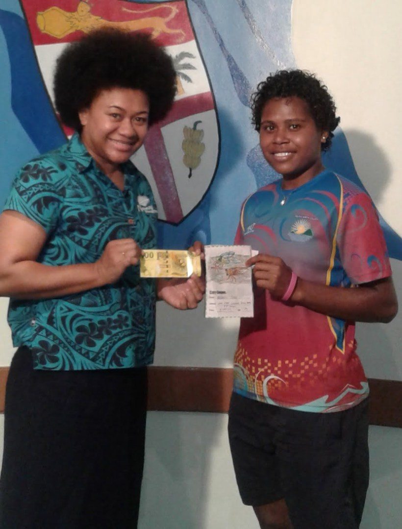 Tailevu North College student wins Nanai colouring competition
