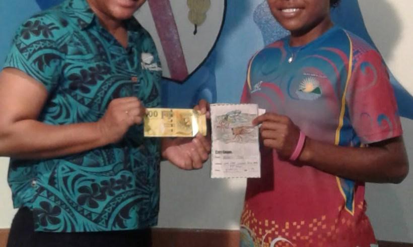 Tailevu North College student wins Nanai colouring competition
