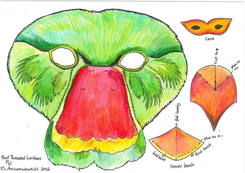 How To Make Your Kulawai Mask For Lost Species Remembrance Day!