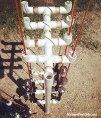 Pvc Pipe Fishing Rod Holder