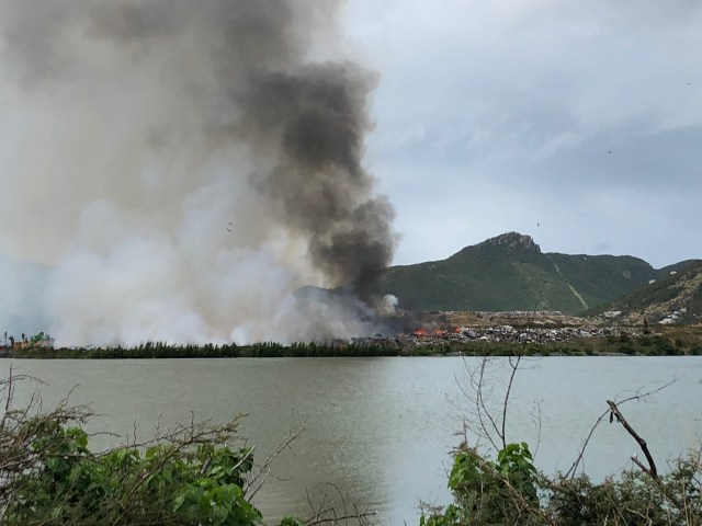 sxm landfill fire