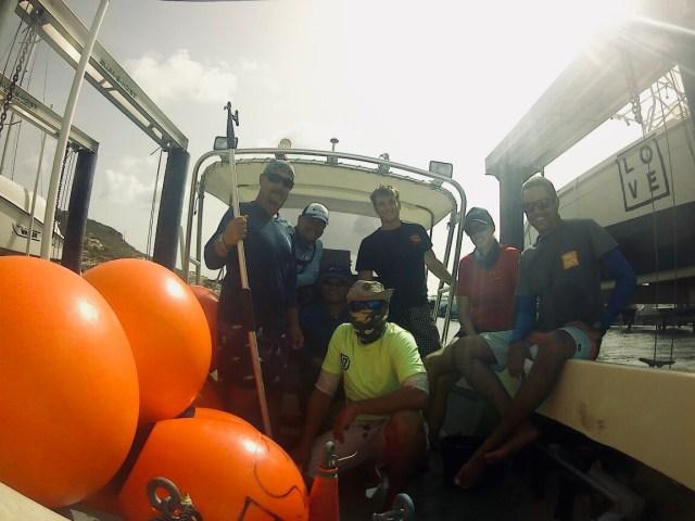 guys in boat