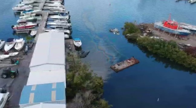 oil spill st maarten