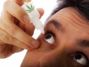 CBD eye drops