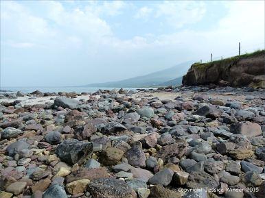 Beach stones at Fermoyle