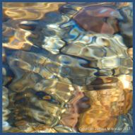 Natural abstract water ripple patterns
