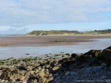 View from Twlc Point in Broughton Bay, Gower.