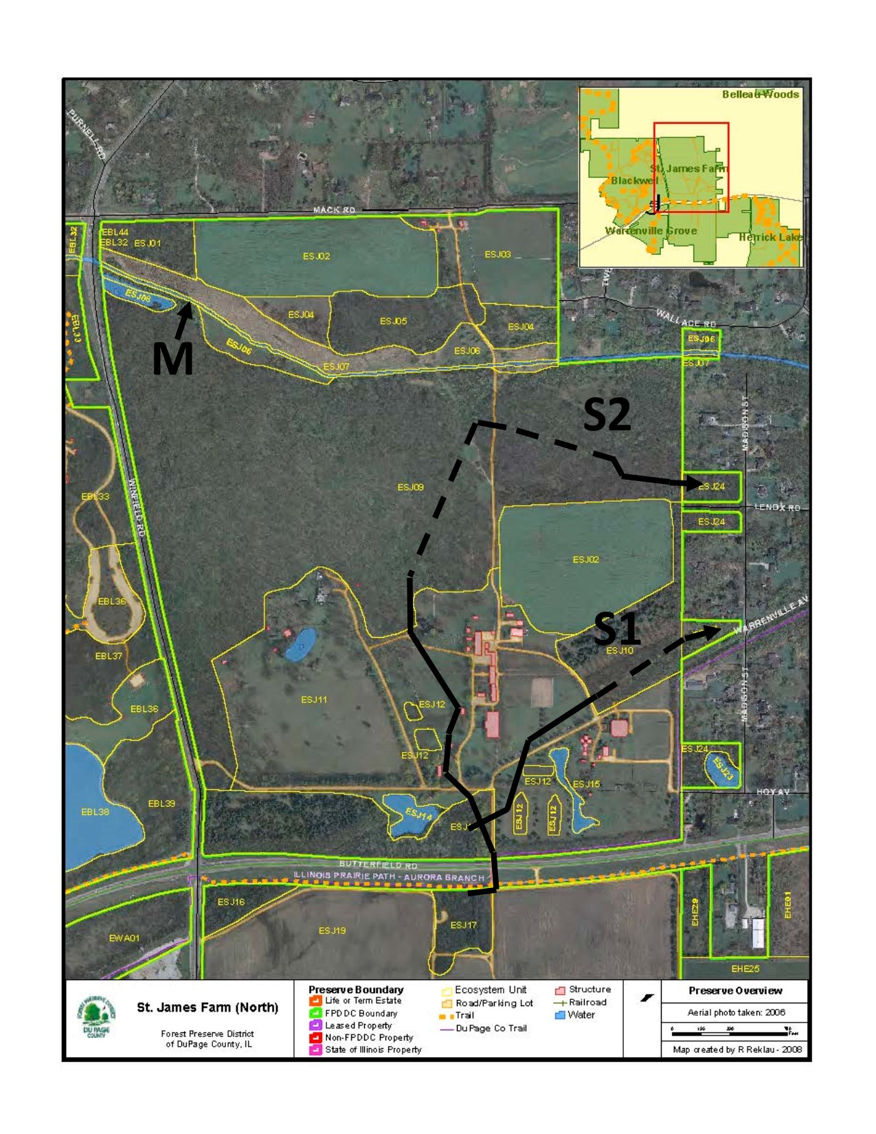 hight resolution of here is the habitat map of northern st james farm m shows where the