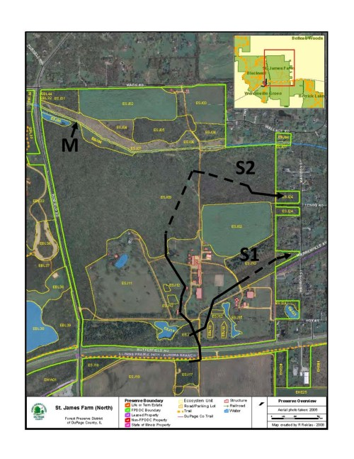 small resolution of here is the habitat map of northern st james farm m shows where the