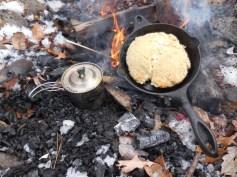 Baking Bannock and White Pine Tea