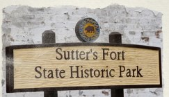 portfolio, video, Sutter's Fort, CA State Parks, Adobe spark video, photographs, docent