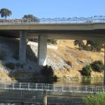 Hazel Avenue bridge, bicycles, traffic, American River crossing, bridge, pedestrians