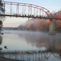Fair Oaks Bridge, American River, morning, wildlife, water, Nature, Nature Detectives