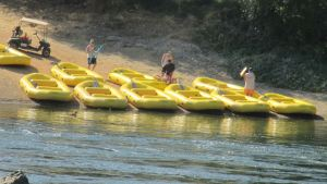rafts, American River, Bannister Park, Fair Oaks, water, play, fun, recreation