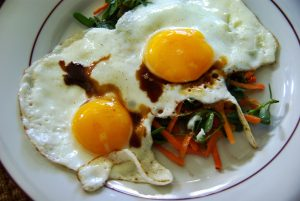 Les oeufs sont recommandés dans le régime anti diabète gestationnel. Vous pouvez en consommer à chaque petit déjeuner. © Chupacabra Viranesque