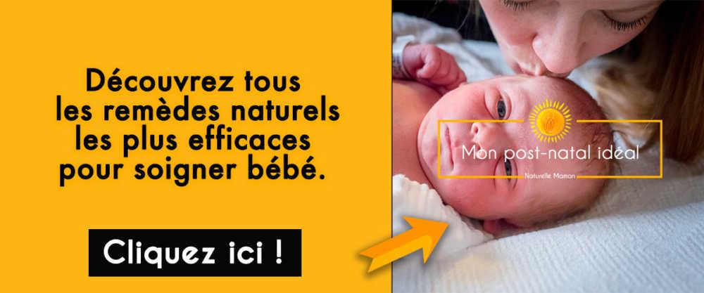 comment soigner son bébé au naturel