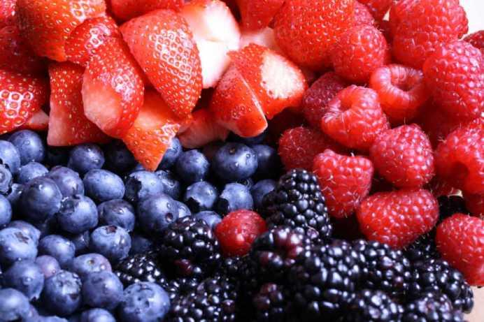 les fruits rouges sont bons pour le cerveau pendant la grossesse