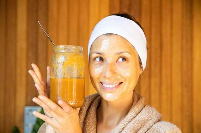 Masque au miel de Manuka acné de grossesse