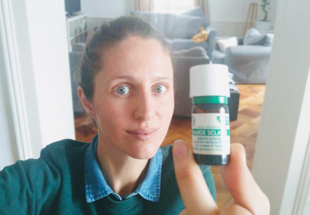 huile essentielle de sauge sclarée naturelle maman