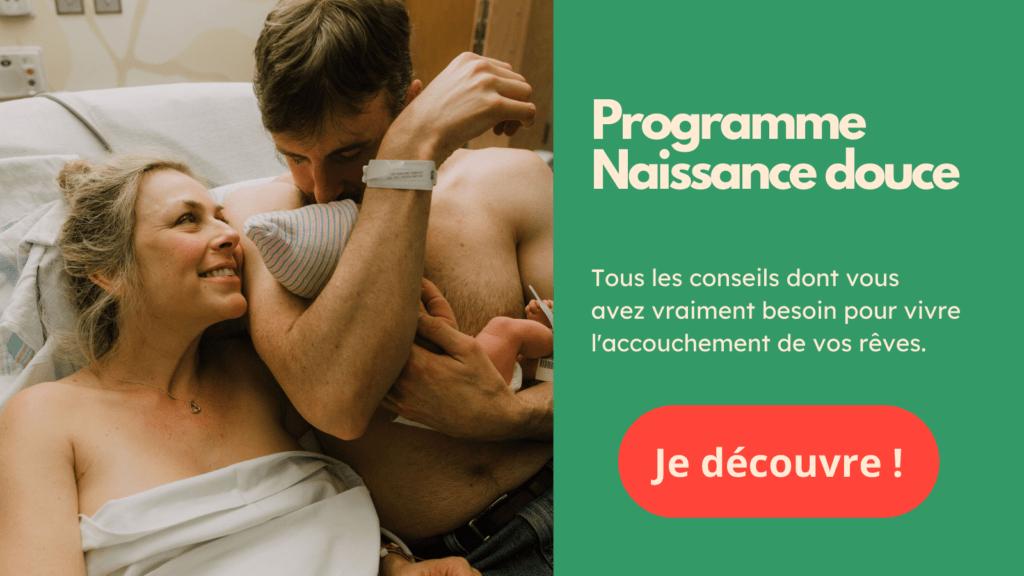 Rejoignez le programme Naissance douce : La préparation à l'accouchement en ligne de Naturelle Maman.