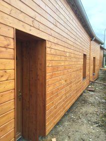 habillage façade bardage en douglas - ossature bois  - Naturellement Bois - Essonne - Val de Marne