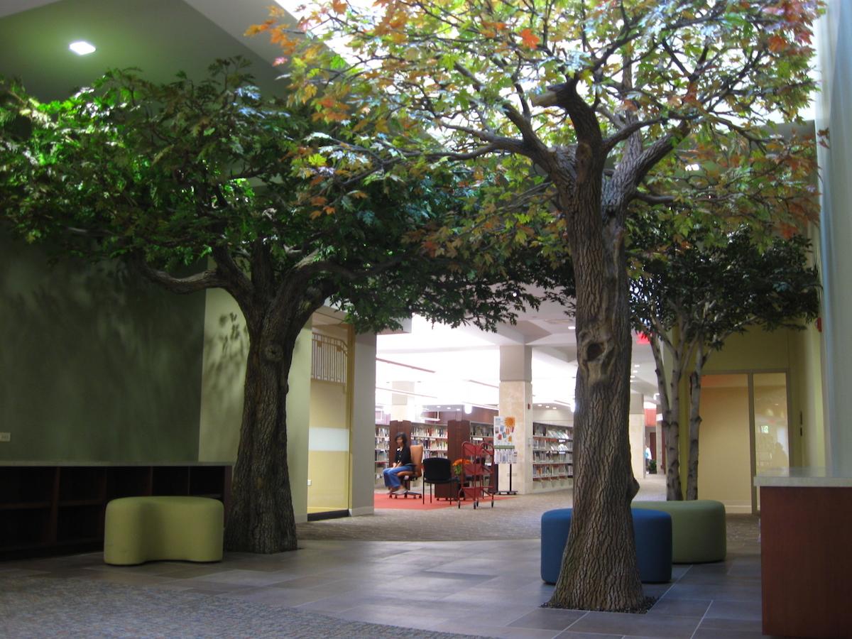 Libraries Archives  NatureMaker Steel Art Trees