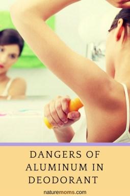 Danger of Aluminum in Deodorant