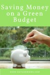 Saving Money on a Green Budget