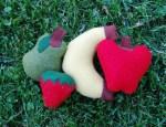LillyBean Felt Market Fruit