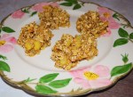 Pineapple Oatmeal Breakfast Cookies