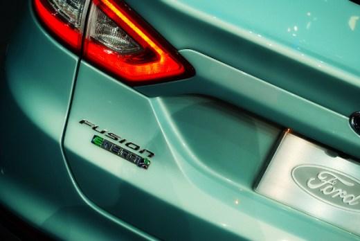 Ford NAIAS 2012 Ford Fusion close-up