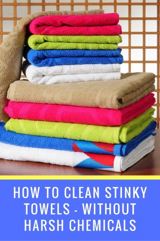 How To Get Rid Of The Mildew Smell In Bath Towels