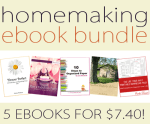 Homemaking eBook Bundle and Printables