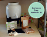 Kombucha on Tap With a Continuous Brew Kombucha Kit
