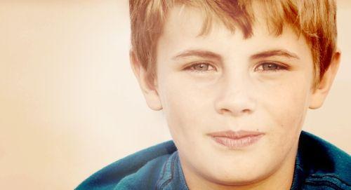 Adorable young boy